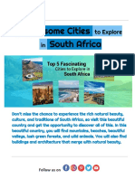 5 Awesome Cities to Explore in South Africa