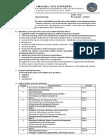 Entrep Course Outline