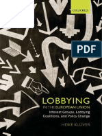 KLUVER H. - Lobbying in the European Union.pdf