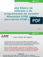 CONFIGURACION D700 BASICO
