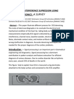 ECG SIGNAL INTERFERENCE SUPRESSION USING MEDICAL ELECTRONICS-pdf