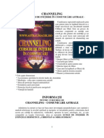 Channeling Comunicari Astrale Curs