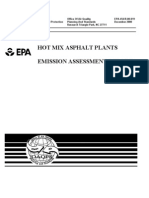 Hot Mix Asphalt Emission Assessment Report