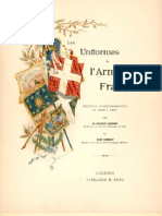Les Uniformes De L'Armée Francaise 1690-1894 Tome V