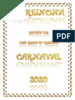 Revista Reinona Especial Carnaval