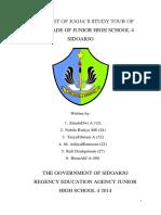 REPORT OF JOGJA