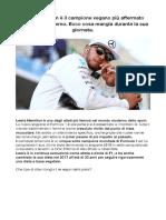 Dieta Lewis Hamilton