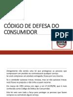 Código de Defesa do Consumidor - aula.ppt