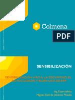 SENSIBILIZACION, SEGURIDAD, AUTOCUIDADO Y EPP