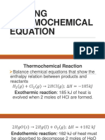 WRITING THERMOCHEMICAL EQUATION Official