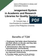Dr.inigo.tqm Library