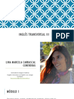 INGLÉS TRANSVERSAL III