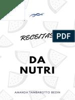 RECEITAS DA NUTRI