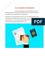 Visa Consultants In Hyderabad