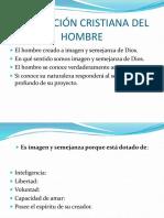 Dimensiones fundamentales del hombre.