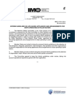 MSC.1-Circ.1614 - Interim Guidelines On Life-Saving Appliances And Arrangements For Ships Operating In Polar... (Secretariat)