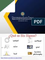 INTRODUCCIÓN SIX SIGMA 2020-1