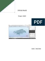 Structural Report.rtf