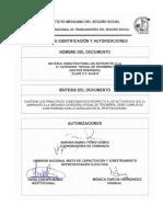 2a CATEGORÍA OFICIAL DE TESORERÍA IMSS