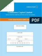 Client Registration Formats