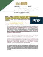 PL 119-19S - 163-18C Inhabilidades Corrupcion