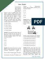 ListaFrações - Paulinho