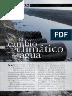 el cambio climatico y el agua
