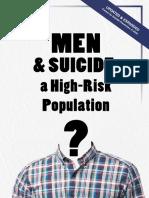 MEN & SUICIDE- a High-Risk Population