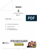 TEMA 1. Derecho Administrativo III.