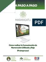 Guía Paso a Paso Nuevo Marangatu - Cómo realizar la Comunicación de Numeración Uitlizada Preimpresos.pdf