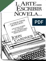 GARDNER John - El Arte de Escribir Novela