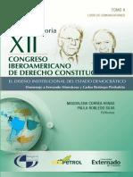 XII congreso Iberoamericano de Derecho Constitucional - Magdalena Correa Henao y Paula Robledo Silva