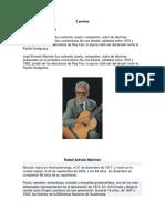 2 poetas, 2 pintores y 4 cantates guatemaltecos