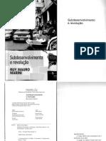 Ruy Mauro Marini - Subdesenvolvimento e revolucao.pdf