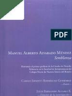 MANUEL ALBERTO ALVARADO MÉNDEZ,  Semblanza. Autor Camilo Ernesto Rodriguez-Gutierrez