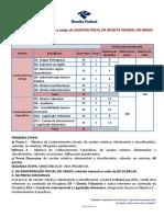 Edital Sistematizado - AFRFB -