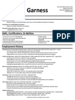 resume - hezel m garness -january 2020