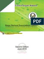 KNEC Career Booklet Booklet 2015newLATEST