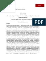 Construção e Validação de Conteúdo da Escala de Habilidades Parentais em Disciplina Positiva