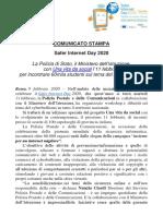 20200211 Comunicato stampa safer Internet Day 2020.pdf