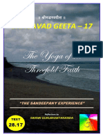 BG 17 Geeta - Shraddha Trayaaa
