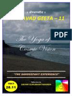 BG 11 Geeta - Vishwaroopa