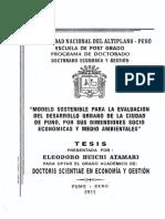 Modelo sostenible para la evaluación del desarrollo urbano de la ciudad de Puno.pdf