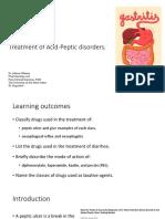 Treaf Acid-Peptic Disorders