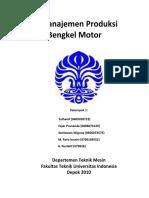 Manajemen Produksi Bengkel Motor