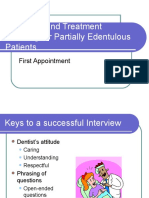 050107 - Diagnosis and Treatment Planning for Partially Edentulous Patients