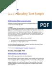 IELTS Reading Sample