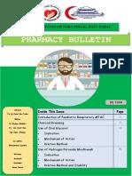 Pharmacy Bulletin Bil.3.2018