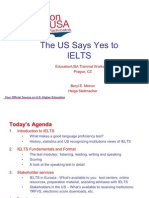 II-8 the Us Says Yes to Ielts