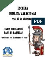 ESCUELA BIBLICA VACACIONAL